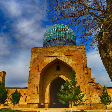 Islamic design Samarkand Uzbekistan