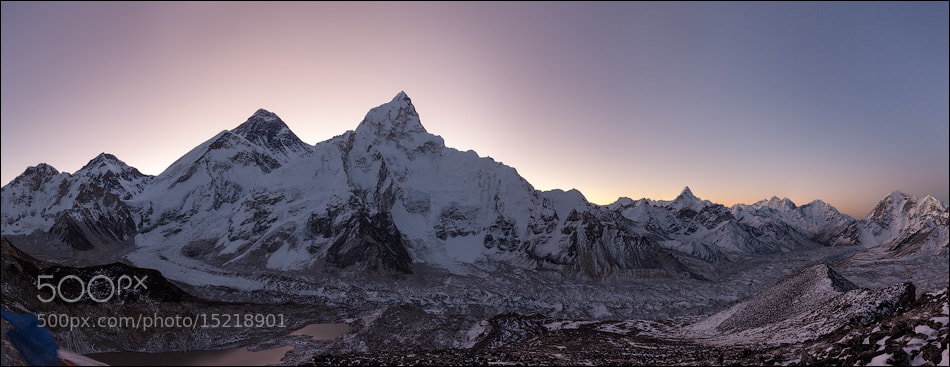 Photograph Everest sunrise by Maxim Letovaltsev on 500px