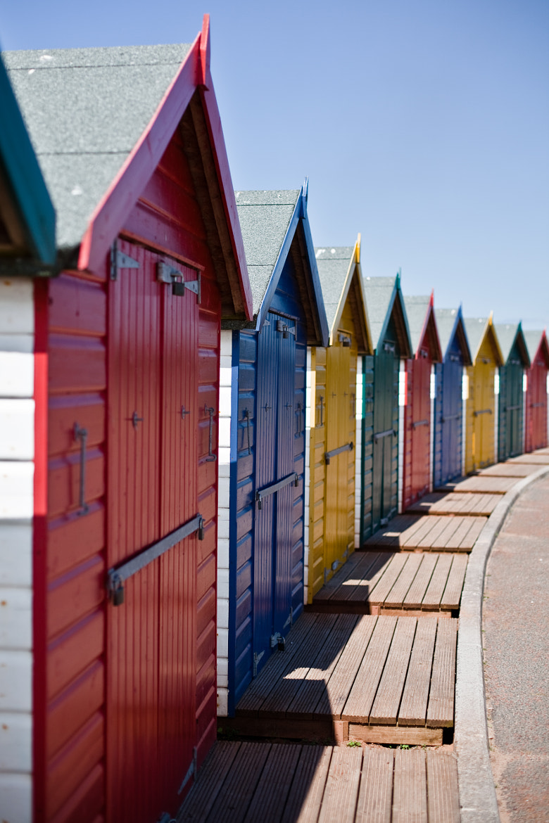 Photograph Beach Huts by Morgan Wiltshire on 500px