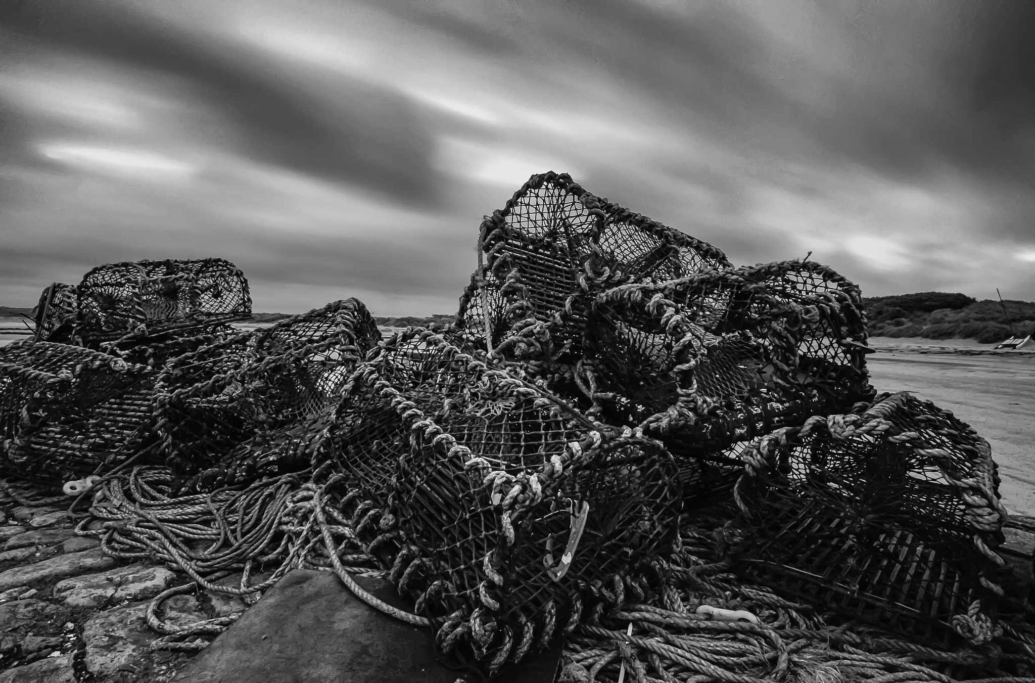 Photograph Crab Pots by Gail Sparks on 500px