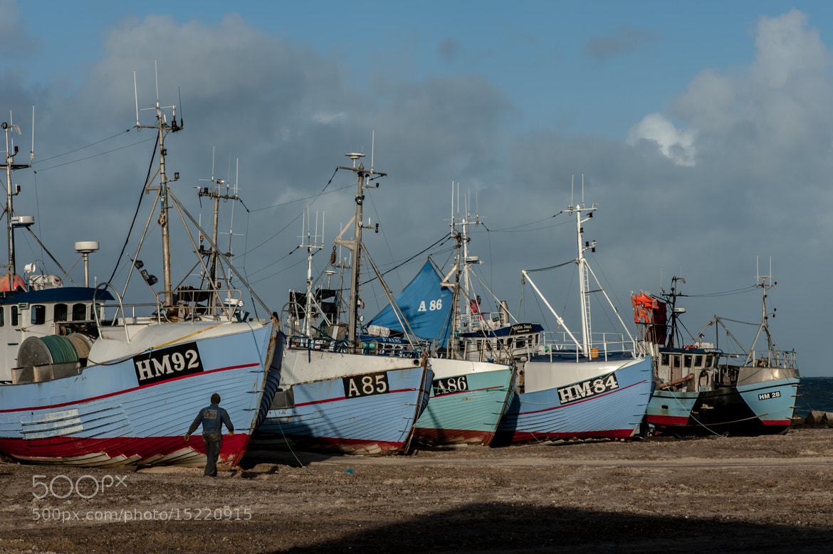 Photograph Fishing boats by jorgen norgaard on 500px