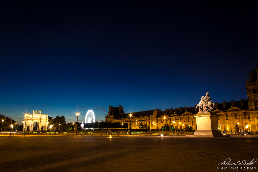 Photograph Near the Louvre by Alessio La Spada on 500px