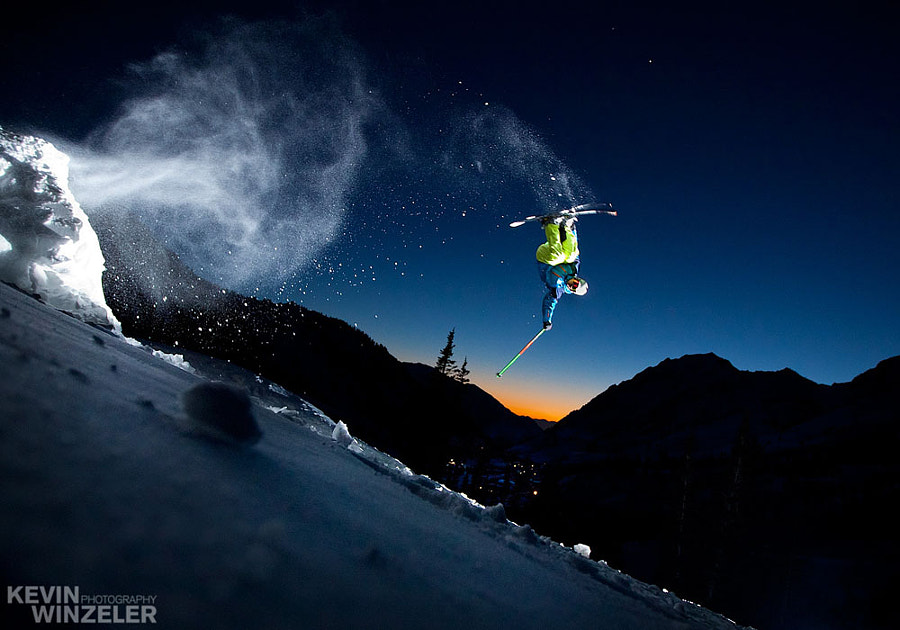 Photograph Backcountry Air - Skiing by KevinWinzeler.com  ~ sports, lifestyle on 500px