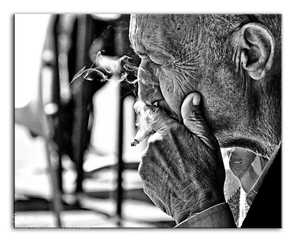 Photograph Smokin' by Alon Nachum on 500px
