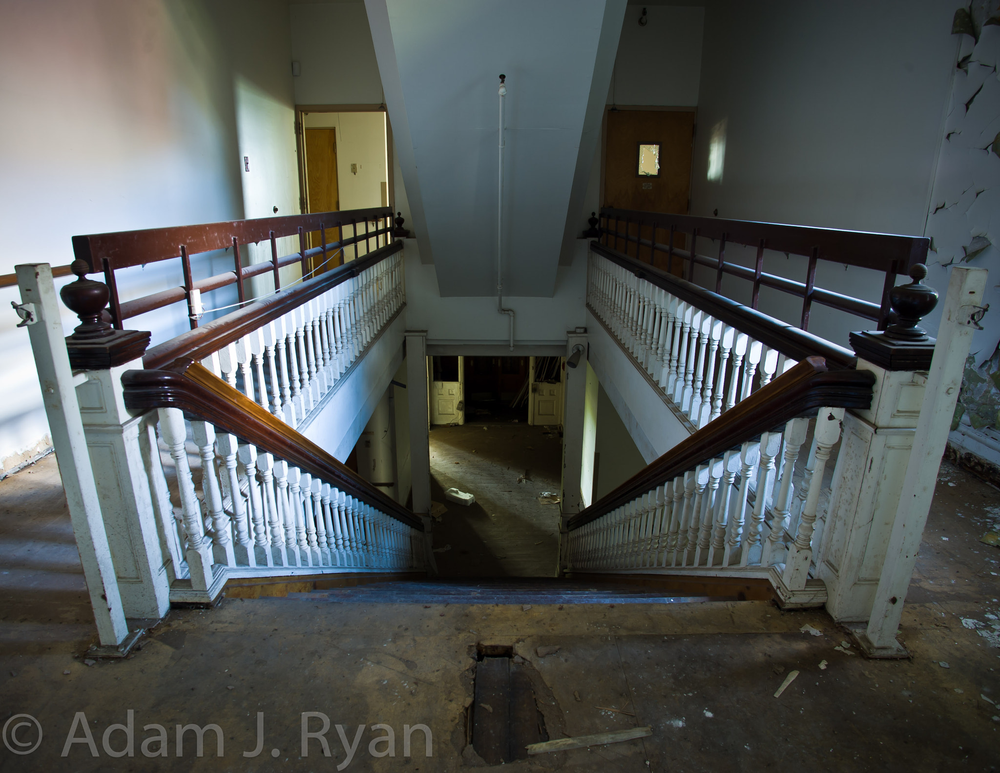 Photograph Stairs going down by Adam Ryan on 500px