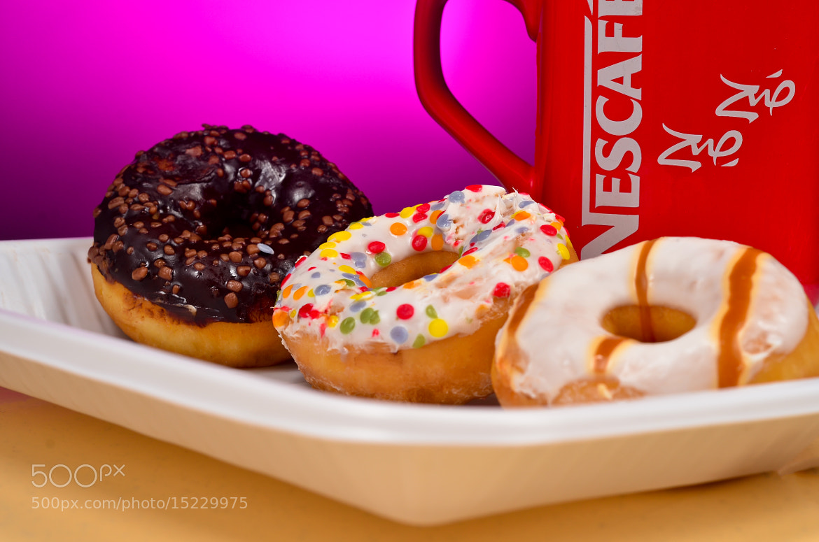 Photograph Donuts n Coffee by Manu Gopal on 500px