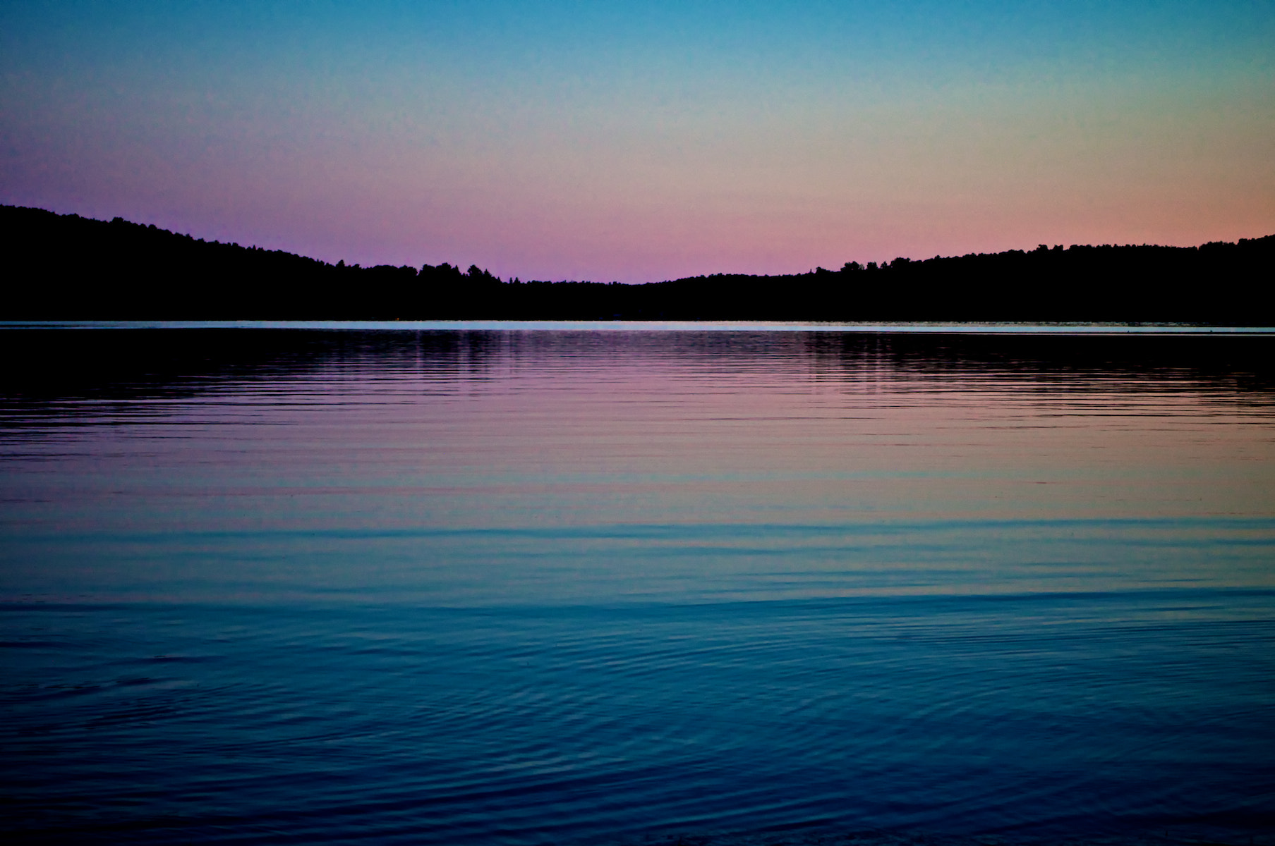 Photograph Sunset at Leslie lake by Mocking Jay on 500px