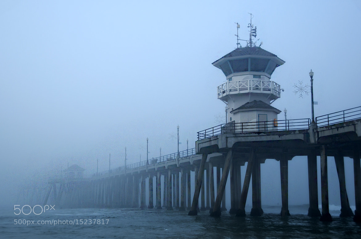 Photograph Fog at the Pier by Peter Dang on 500px