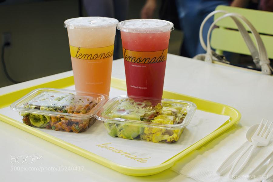 Lemonade at USC