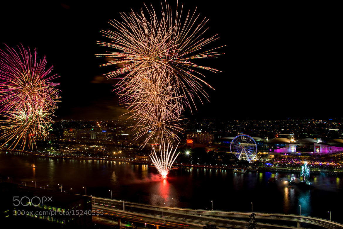 Photograph Riverfire 2012 Fireworks by Adrian Francis on 500px