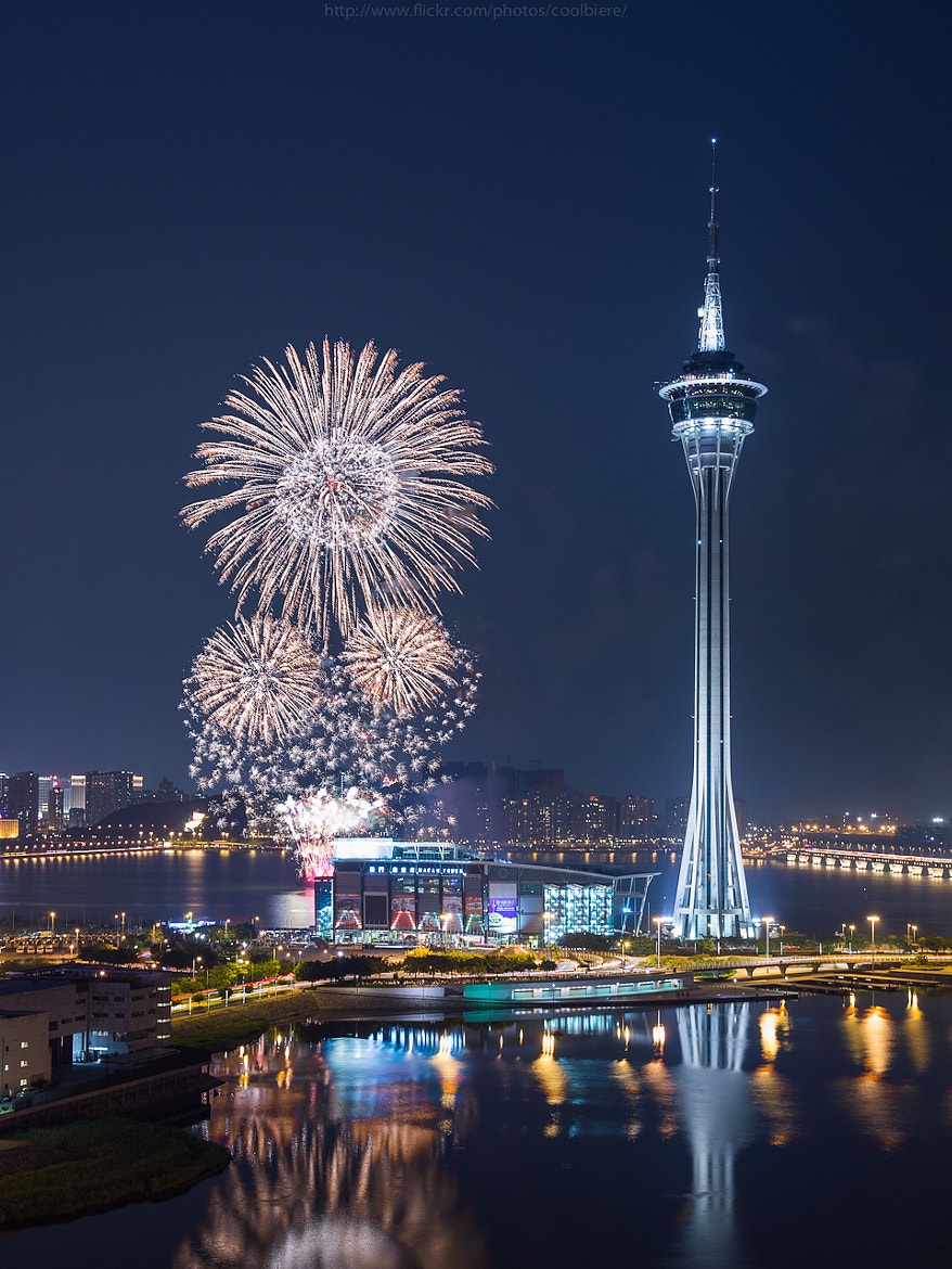 Photograph Macau int. fireworks 2012 by Coolbiere. A. on 500px