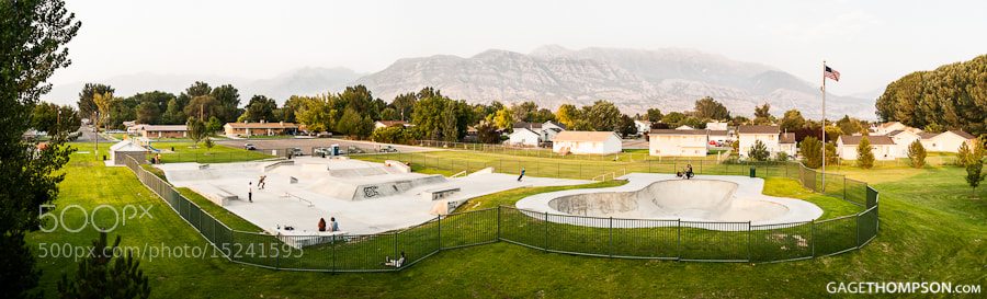 Photograph American Fork Skatepark  by Gage Thompson on 500px