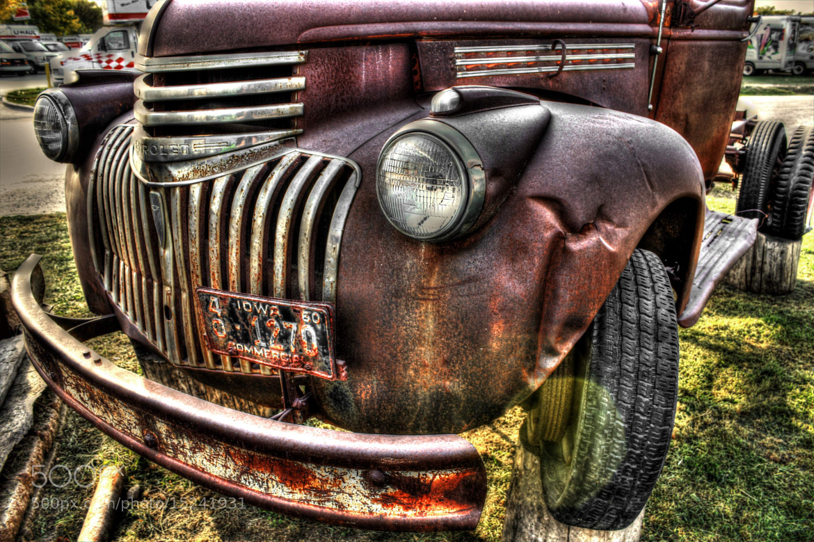 Photograph An Old Chevy Truck (2) by Alper Hayreter on 500px