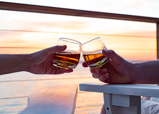 Toasting glasses at Sunset by Brian Wilson on 500px
