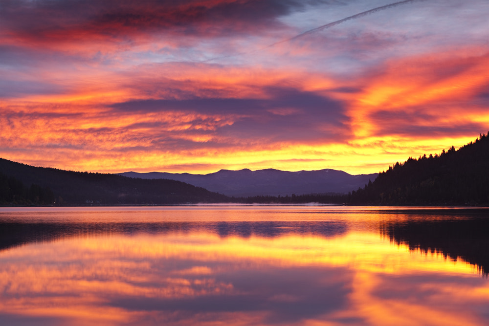 Photograph Fire in the Sky, Donner Lake by Grant Kaye on 500px