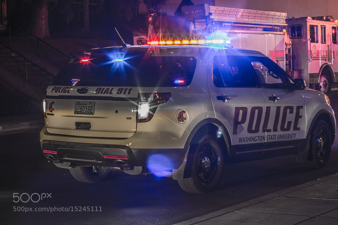 Photograph WSU Police by Craighton Miller on 500px