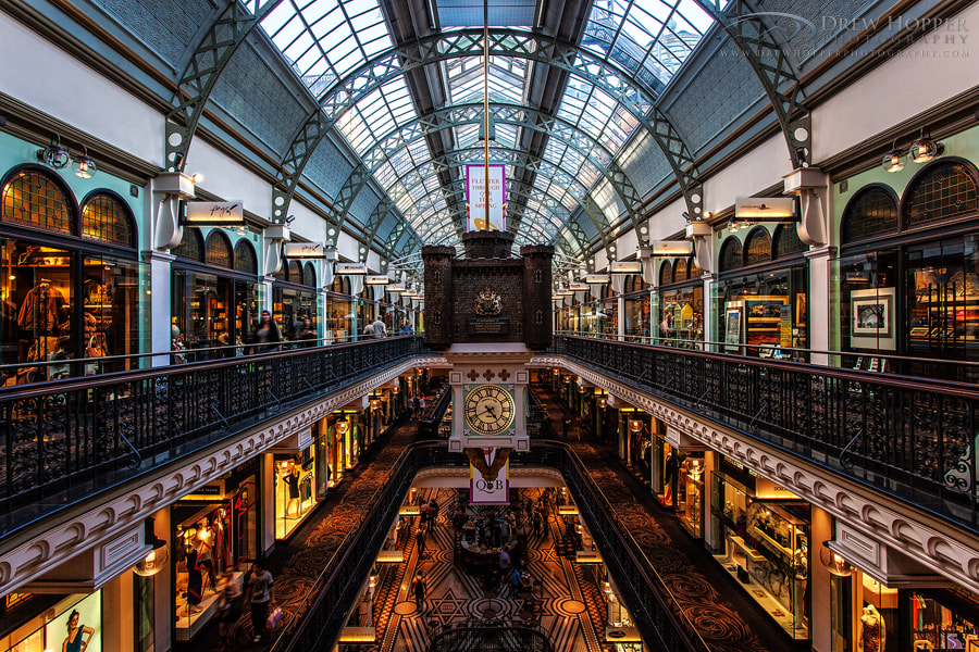 Photograph Queen Victoria Building by Drew Hopper on 500px