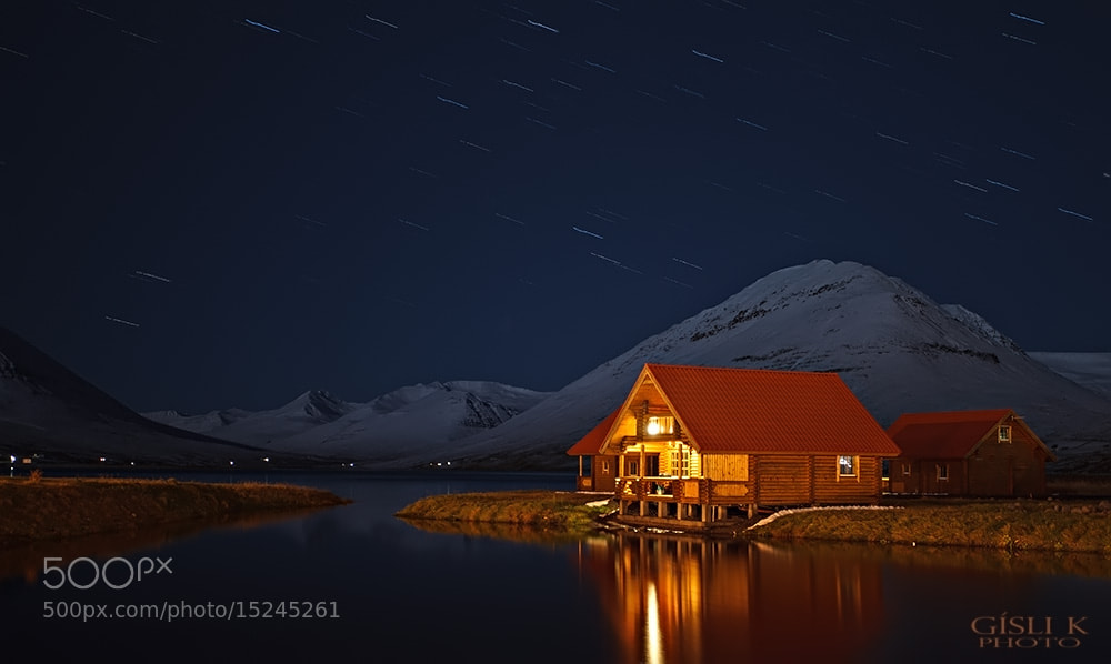 Photograph Cabins by Gisli Kristinsson on 500px