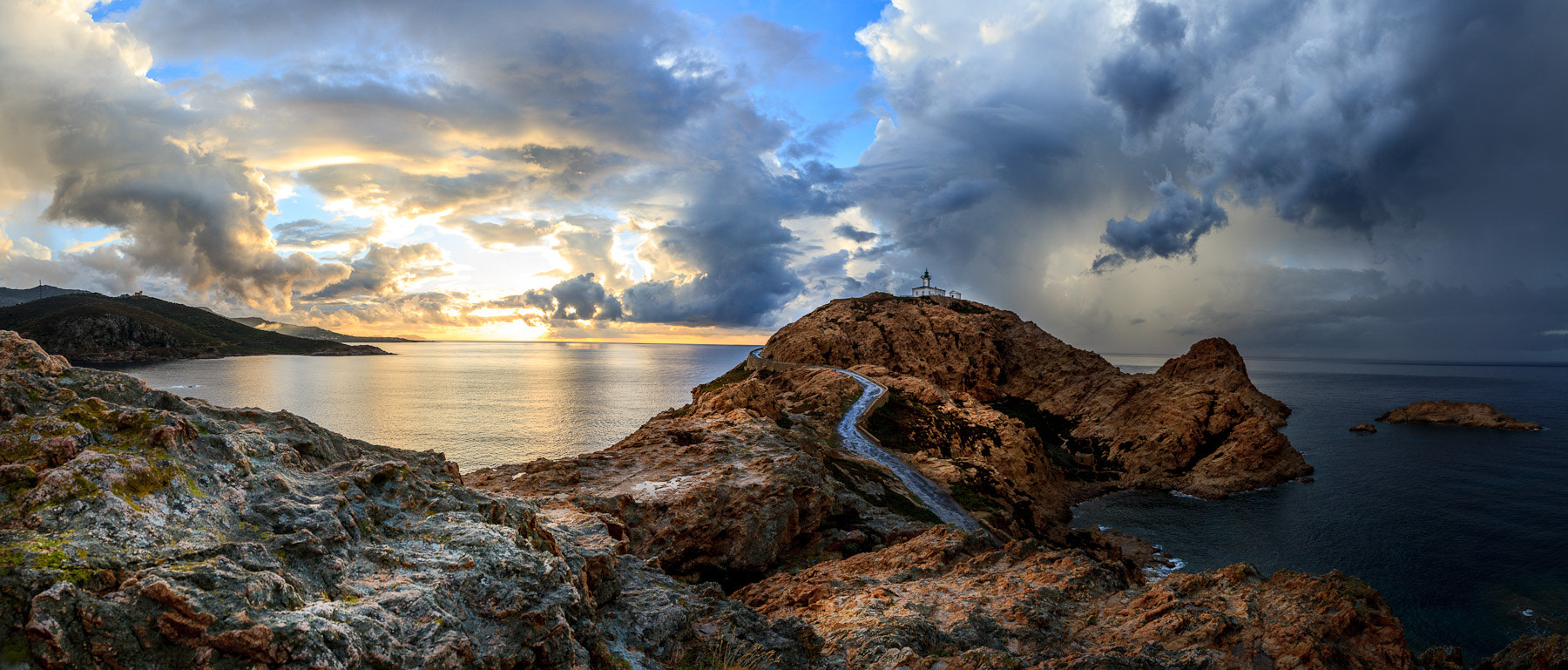 Photograph Ile Rousse Panorama by Ramelli Serge on 500px