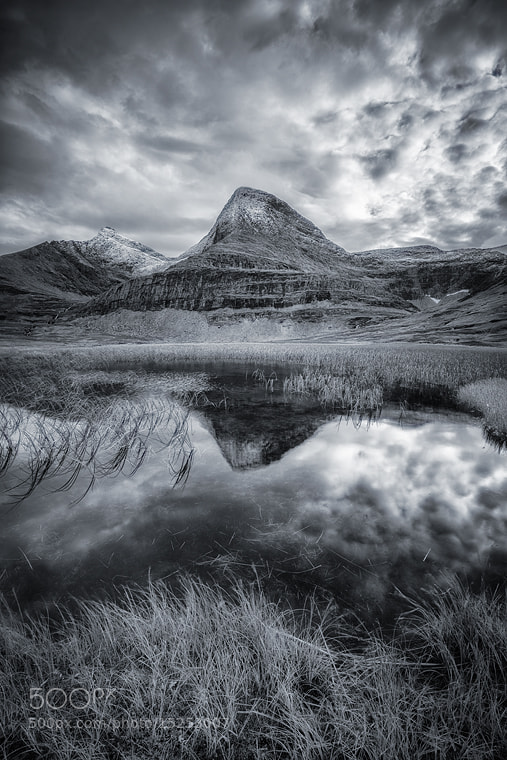 Photograph Storjorddalen Valley Reflection by Arild Heitmann on 500px
