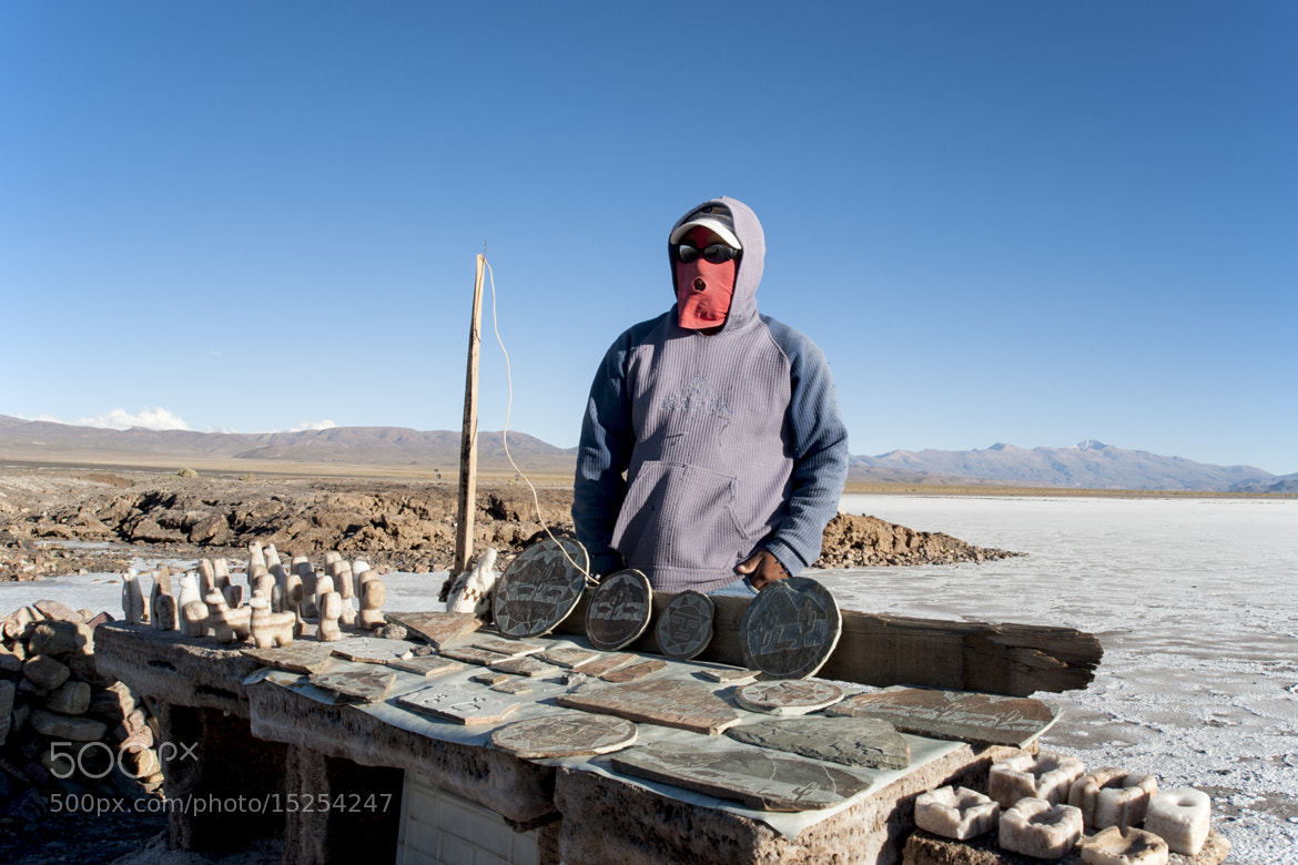 Photograph Sellers in Salinas Grandes - 3000 m a.s.l.  by Simone Rinaldi on 500px