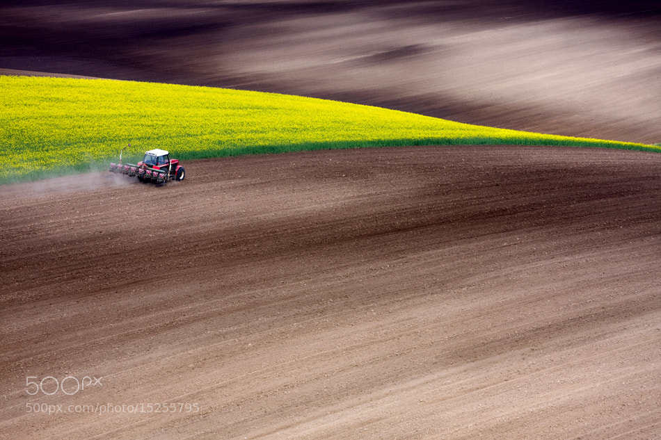 Photograph Tractor by Marcin Sobas on 500px