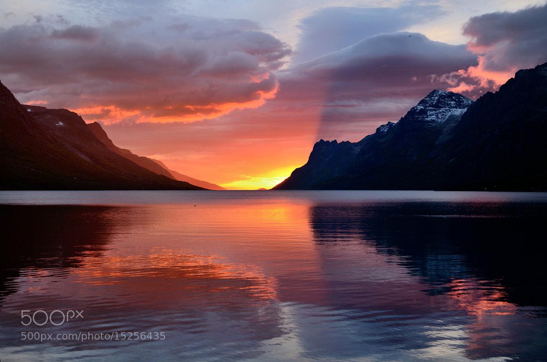 Photograph Sunset in Ersfjordbotn by John Hemmingsen on 500px