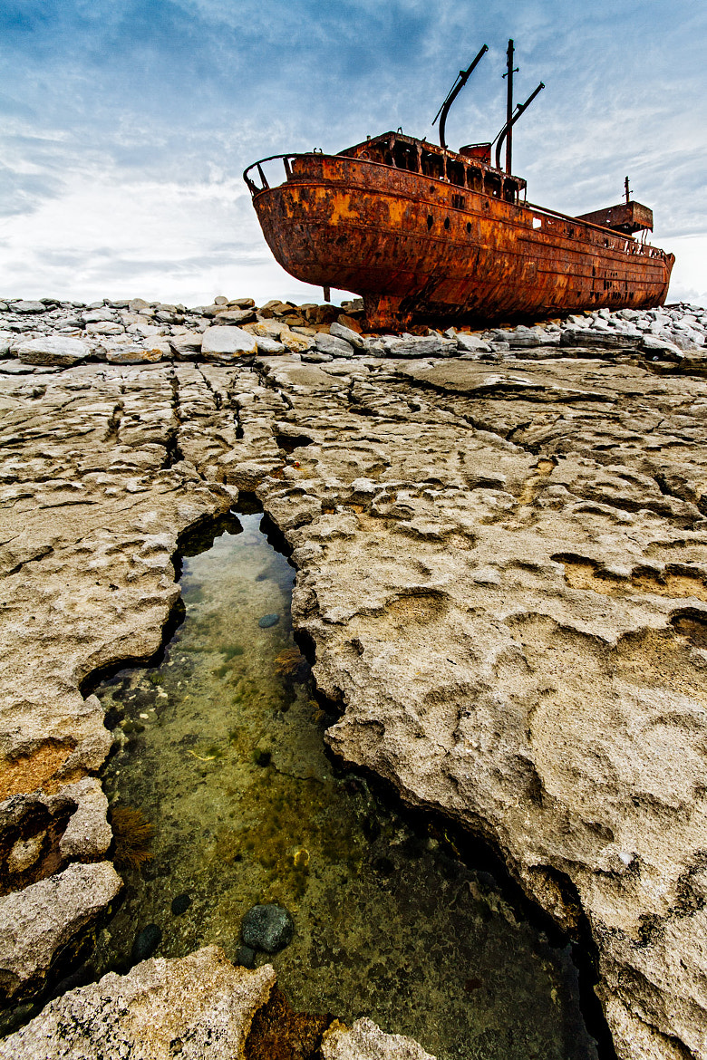 Photograph The wreck of the Plassey by Federica Violin on 500px