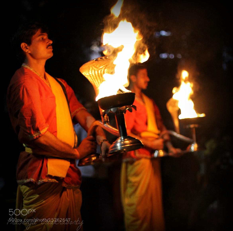 Photograph Ganga-Arati #3 by Prasenjit Chakraborty on 500px