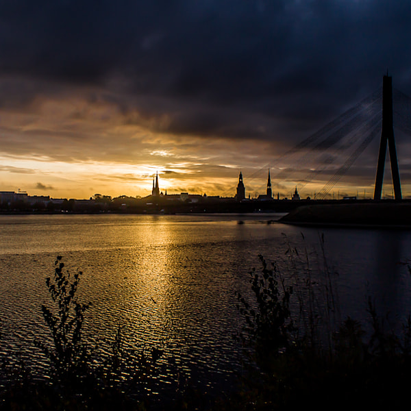 """ Dawn in RIGA """
