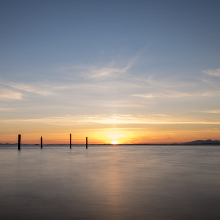 Sunset at Crescent Beach, Sony ILCE-7, Canon EF-S 10-22mm f/3.5-4.5 USM
