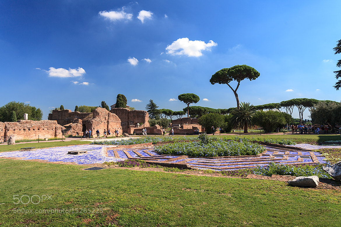 """Photograph Palatin Hill: exhibition """"Horti & Gardens"""" by Simone Gianolio on 500px"""