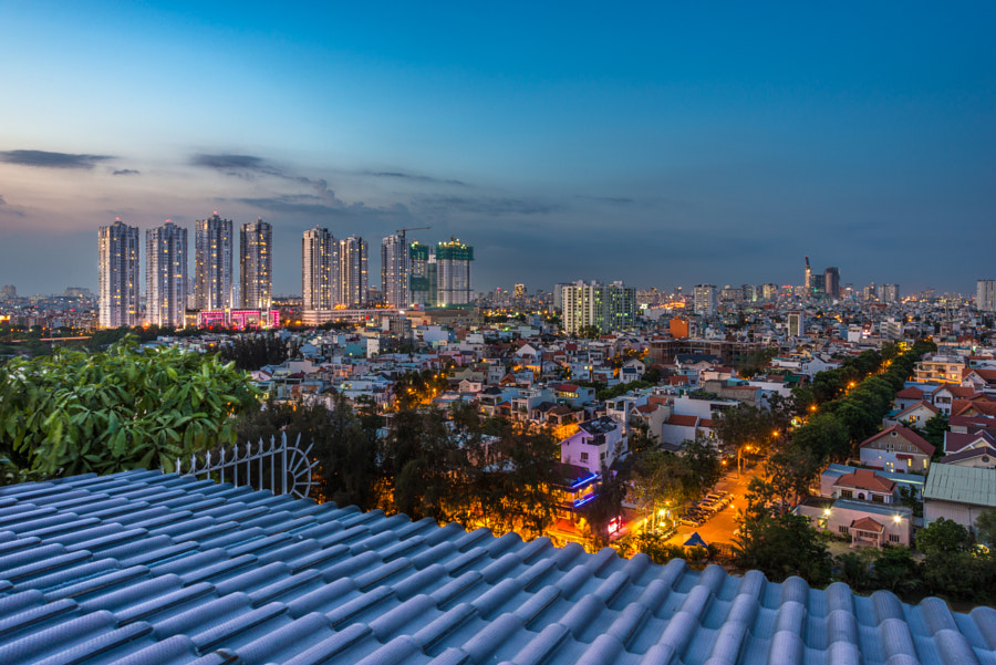 Saigon, view from Sky Garden