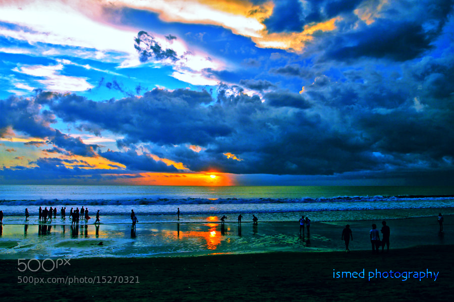 Photograph Cloudy Sunset  by Ismed Hasibuan on 500px