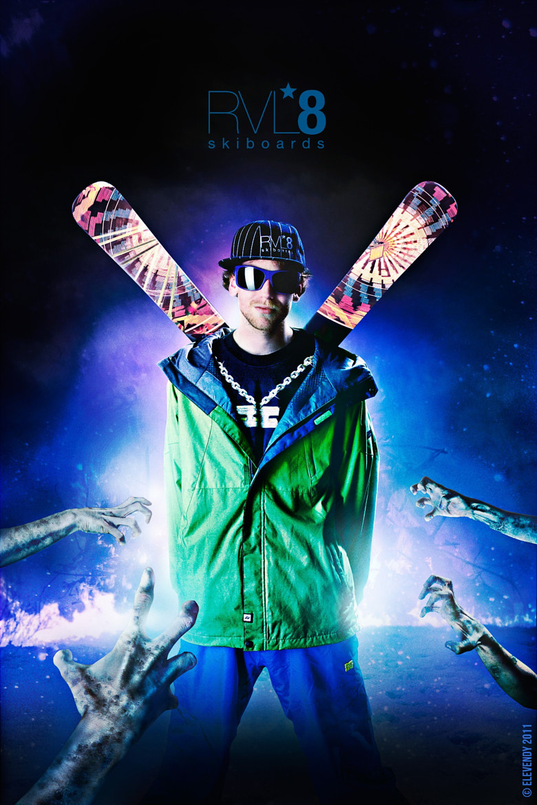 Photograph RVL8 Skiboards '11/'12 Campaign by Team Elevendy on 500px