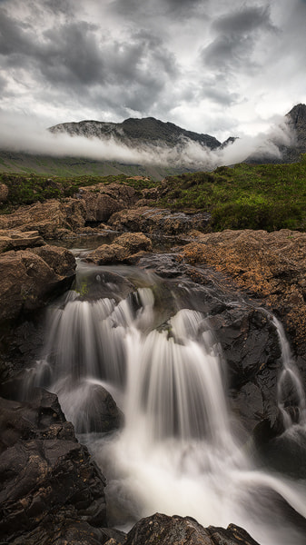 Fairy pools flood by donald Goldney on 500px.com