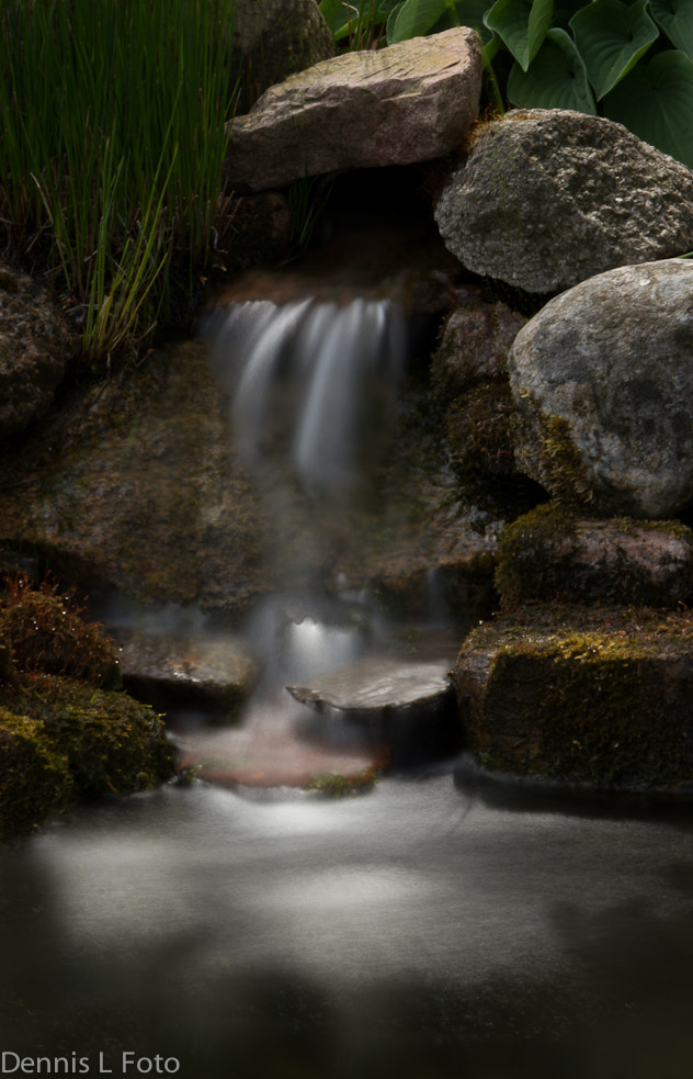 Photograph Small waterfall by Dennis Larsen on 500px