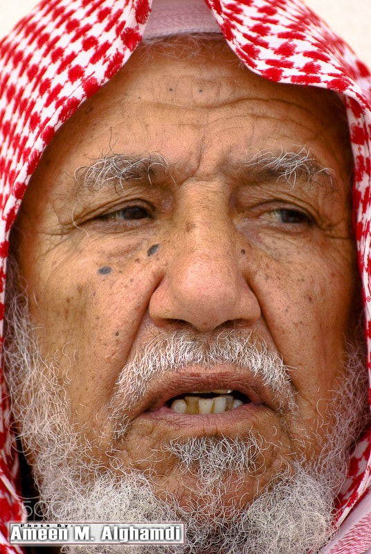 Photograph oldman by Ameen Alghamdi on 500px