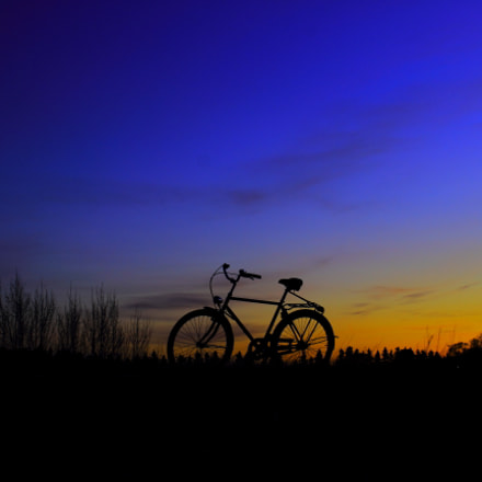 Bicycle tour on sunset, Canon EOS 600D, Canon EF 20-35mm f/2.8L