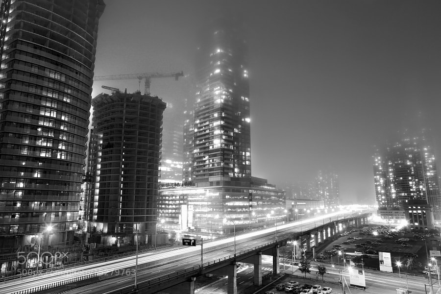Fog Over Gardiner Expressway by Richard Gottardo (RichardGottardo) on 500px.com