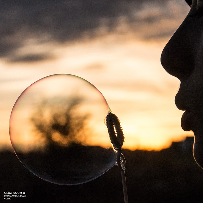 Photograph Just a bubble by KUbajsz Fiser on 500px