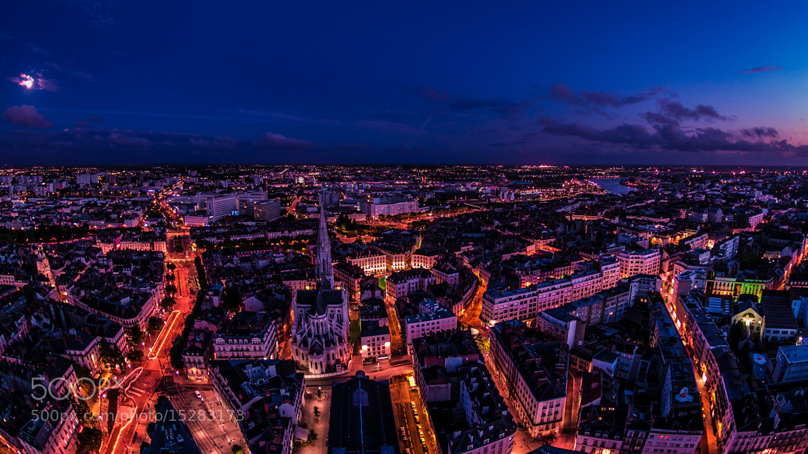 Photograph Nantes By Night by Regard Singulier on 500px