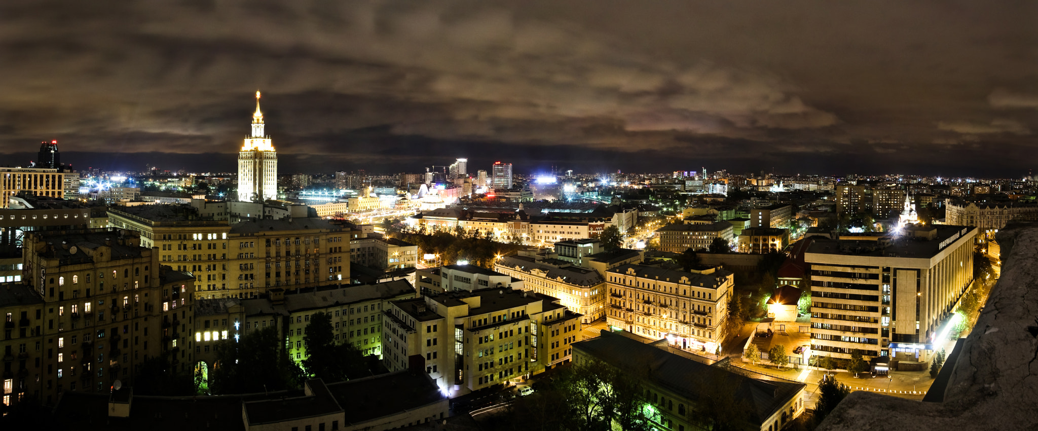Photograph Moscow city lights by Rinat Fattahov on 500px