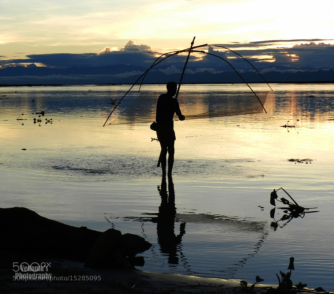 Photograph Fishing at Sunset by Vedanta Baruah on 500px