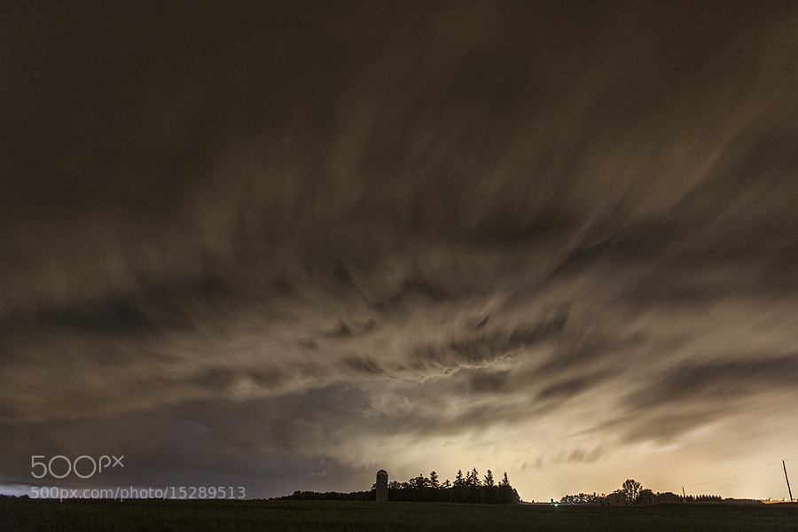 Shelf Cloud Rolling In by Richard Gottardo (RichardGottardo) on 500px.com