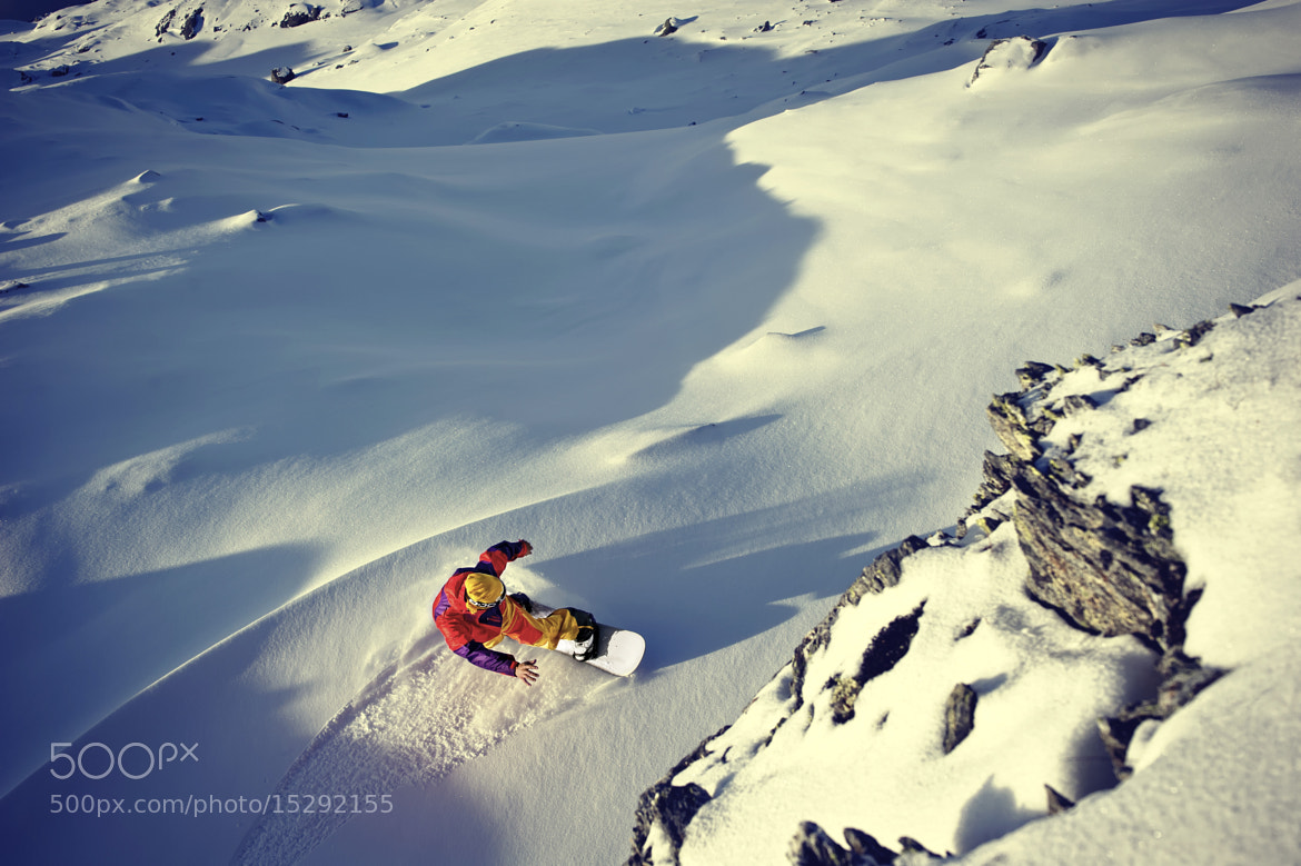 Photograph Autumn Snowboarding by Emil Eriksson on 500px
