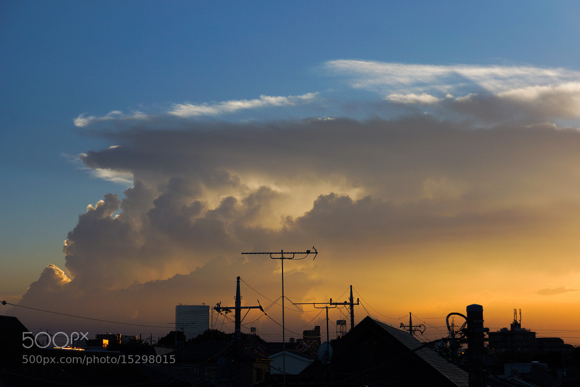 Photograph Cumulonimbus cloud by Hirofumi Okubo on 500px