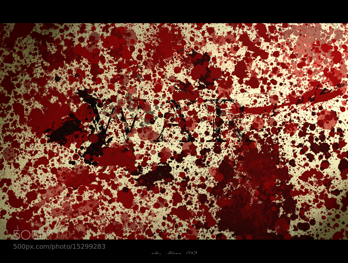 Photograph WAR IS OVER ///AB TOSUN by Burak Burak on 500px