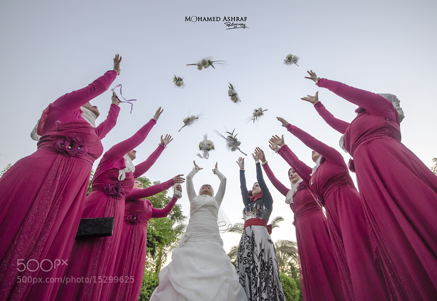 Photograph Bride and Bridesmaids by Mohamed Ashraf on 500px