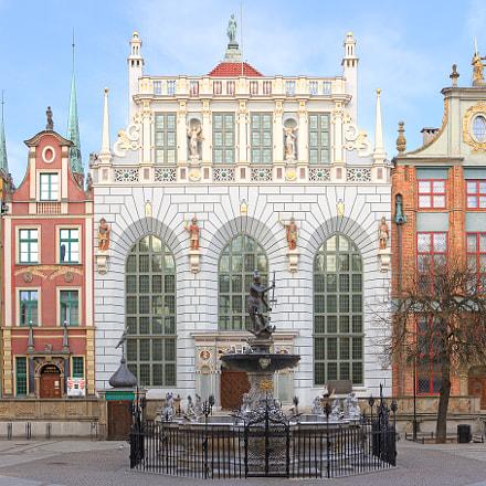 Dwor Artusa w Gdansku